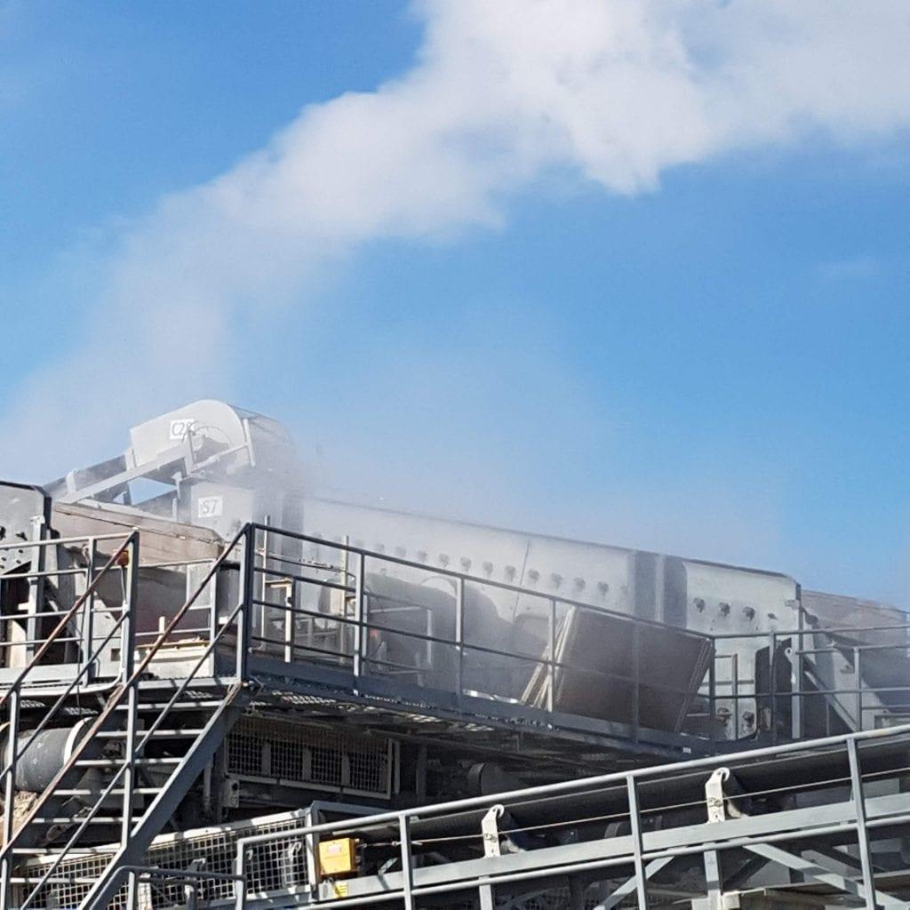 Crusher Dust Suppression Christchurch