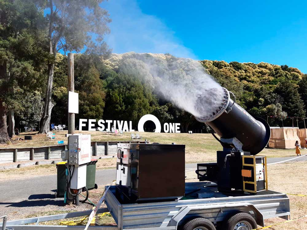 Festival One Crowd Cooling Cannon